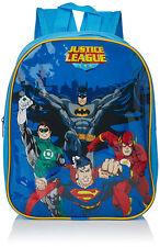 Justice League Backpack Kids School Children Lunch Box Book bag Superhero