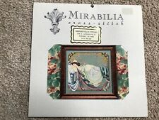 "vintage 1994 Mirabilia cross stitch pattern ""Sleeping Beauty"""