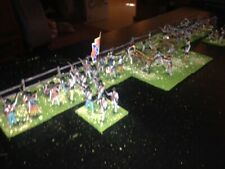 50 Painted 1/72 - US Civil War Confederate Infantry Regiment & Artillery w Fence