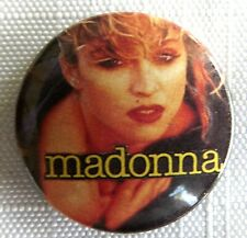 Madonna Vintage Ancien 1980 `S Bouton Badge 25mm (Not CD Chemise Patch)