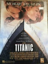 My Heart Will Go On Piano Vocal Guitar Sheet Music Love Theme from Titanic Movie