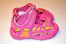 Jumping Beans Toddler Girls Sport Sandals Size 9 Shoes Pink Adjustable Straps
