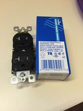 Leviton T5820-E Tamper Resistance Duplex Receptacle 20 Amp-125V - Each