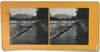Nice il Paillon Italia Foto P39L9n14 Stereo Stereoview Vintage Analogica