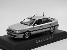 Norev 517747 - 1993 Renault Safrane Biturbo Baccara - silber - 1:43
