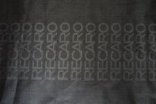 Full Black Recaro Fabric For Seat Cover Headliner Door Panel Cloth 0.5m x1.6m