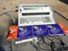 Ibm Personal Wheelwriter 25 Typewriter By Lexmark Machine Type 6785 001 Extras
