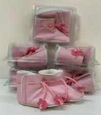 Zapatillas de Bebé Botines Lote 6 Pair Varios Tamaños Rosa Niña