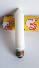 Vintage Pope Candle Bulb Lamp 25w E27 240v Chandelier Candleabra Light 15cm Nos