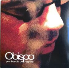 "PASCAL OBISPO - CD SINGLE PROMO ""PAS BESOIN DE REGRETS"""