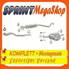 Abgasanlage ab Kat Auspuff Opel Astra G 1.4 16V Caravan Kombi T98 ab 09//00+Kit