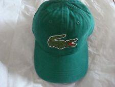 Men's Lacoste Big Croc Gabardine Cap Dadhats Hat RK8217 51 Y62 One Size