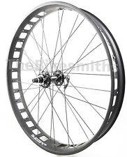 "Alex Blizzerk 80 26"" Fat Bike 135mm Black FRONT Wheel w/ Sealed Novatec Hub"