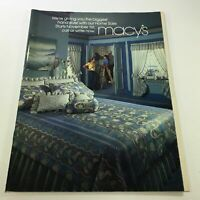 VTG Macy's Catalog: November 1981 - Bedroom Price List Guide / No Label