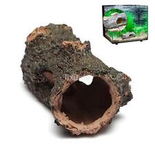 Resin Hide Hollow Tree Log Aquarium Ornament Fish Tank Decoration Accessories