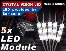 Crysta Vision LED for Motorcycle Light Strips Kit Engine-Bay Bright White 12V