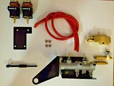 Jeep Dual Circuit Master cyl. conversion kit. NO Frame Mods!