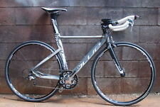 Blue Competition AL Time Trial TT Triathlon Bike Shimano FSA Size XS Silver New
