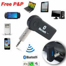 3.0 Receptor de Audio Bluetooth Inalámbrica Música Estéreo Adaptador De Coche + Micrófono 3.5mm aux nuevo