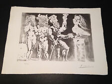 """Picasso """"Suite Vollard"""" Bloch #227, Limited Edition, Picasso Family Authorized."""