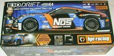 NOS Energy Drift Car 1:10 Scale Chris Forsberg 64 Brand New in Box
