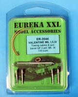 Eureka XXL 1:35 Towing Cable for Valentine I, II, IV, VI & VII Tanks #ER-3544