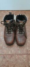 Mens Timberland Ankle Shoes Brown Leather Size 10 used