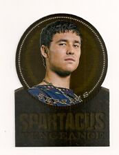 2013 SPARTACUS VENGEANCE DIE-CUT GOLD PLAQUE #GV4 SEPPIA