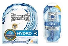 5 Wilkinson Sword Hydro 3  Rasierklingen + 1 Handstück im Set/ Original