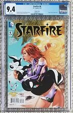Starfire #6 Looney Tunes variant Pepe LePew 2016 DC CGC 9.4 W