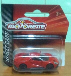 MAJORETTE Red Ford GT Street Cars 1:63 Die Cast