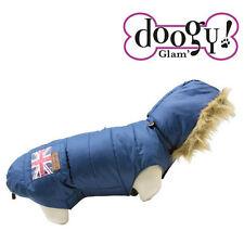 Doudoune Doogy Union Jack Vêtement Manteau Imperméable pour Chien T.25