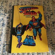 DC Comics Superman & Batman annual Brown Watson 1978 Robin Flash Green Arrow