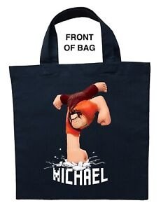 Wreck It Ralph Trick or Treat Bag, Personalized Wreck It Ralph Halloween Bag