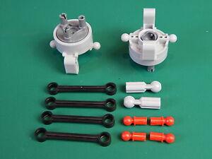 New Lego Technic Steering axle & wheel hub, links 6L, CV joint, Tow Ball