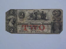 Currency Note 1857 Mount Vernon Bank Providence Rhode Island Paper Money