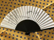 Christian Dior Original Hand Fan SENSU Japanese F/S tracking number
