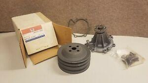 1982 Chevrolet Celebrity NOS Water Pump Delco 251-314 w/pulley  12321723