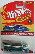 HOT WHEELS Classics #25/30 VW Drag Truck grün Series II