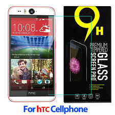 9H Tempered Glass Screen Protector Film Guard For Htc CellPhones Wholesale 0.3mm