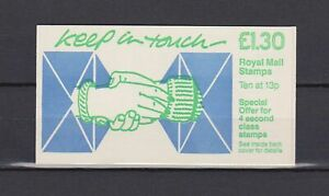s16728) UK GREAT BRITAIN 1987 MNH** Booklet £ 1.30
