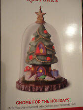 2016 HALLMARK ORNAMENT Gnome for the Holidays Christmas tree house NEW IN BOX