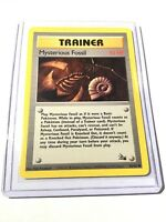MYSTERIOUS FOSSIL Fossil Set - 62/62 - Common Pokemon Card Unlimited Edition NM