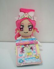 Heartcatch Pretty Cure! Precure BLOSSOM Banpresto Plush 2010 Toy TAG Japan 47162
