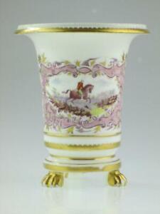 Antique 19th Century Porcelain Vase 1818  Nantgarw