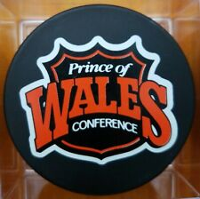 PRINCE OF WALES CONFERENCE NHL VINTAGE GENERAL TIRE ZIEGLER TRENCH GAME PUCK GEM