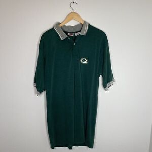 Vintage NFL Authentic Green Bay Packers Coach's Polo Sideline Men's 1998 Size L