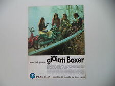 advertising Pubblicità 1975 PIAGGIO BOXER 50