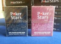 Copag PokerStars .net 100% Plastic Casino Playing Cards - BRAND NEW - UK Stock