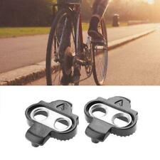Bicycle Bike MTB Lock Pedal Plate SPD Shoe Adapter Cleats Clipless For Shim J9U5